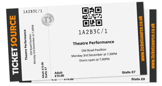 Ticket printing printing your in house bookings sample thermal ticket sciox Image collections