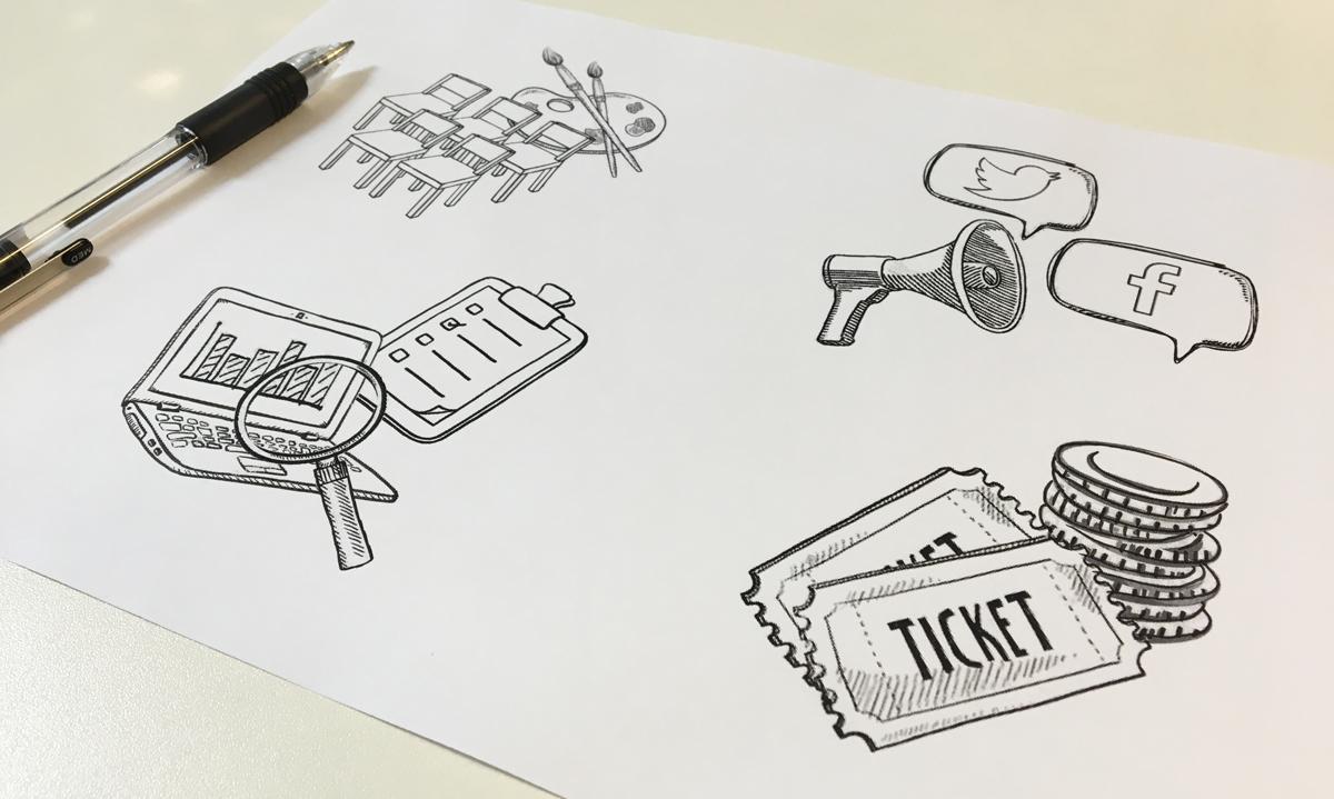 sketch images in progress