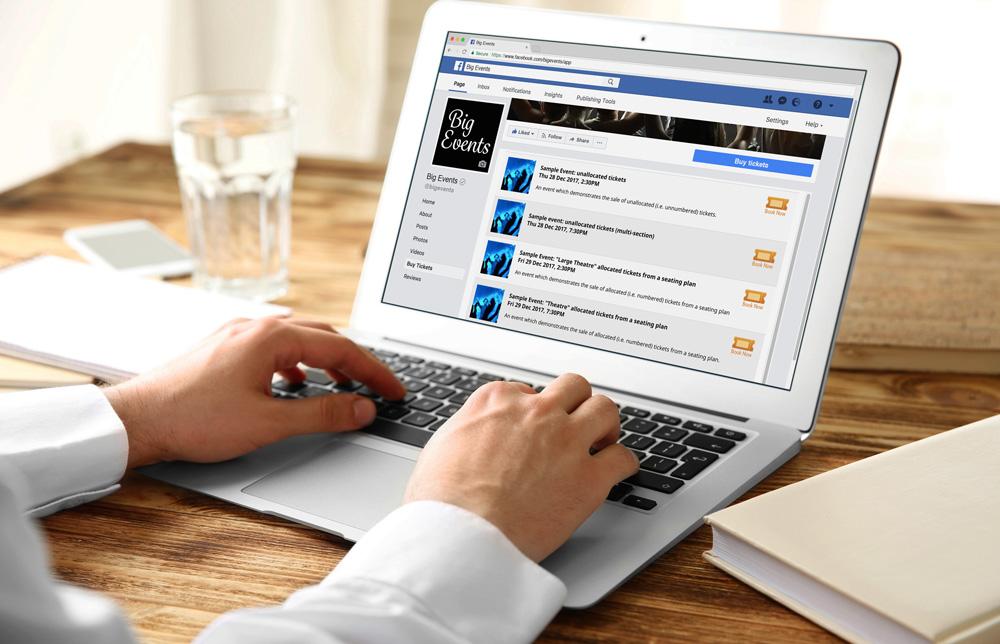 TicketShop for Facebook