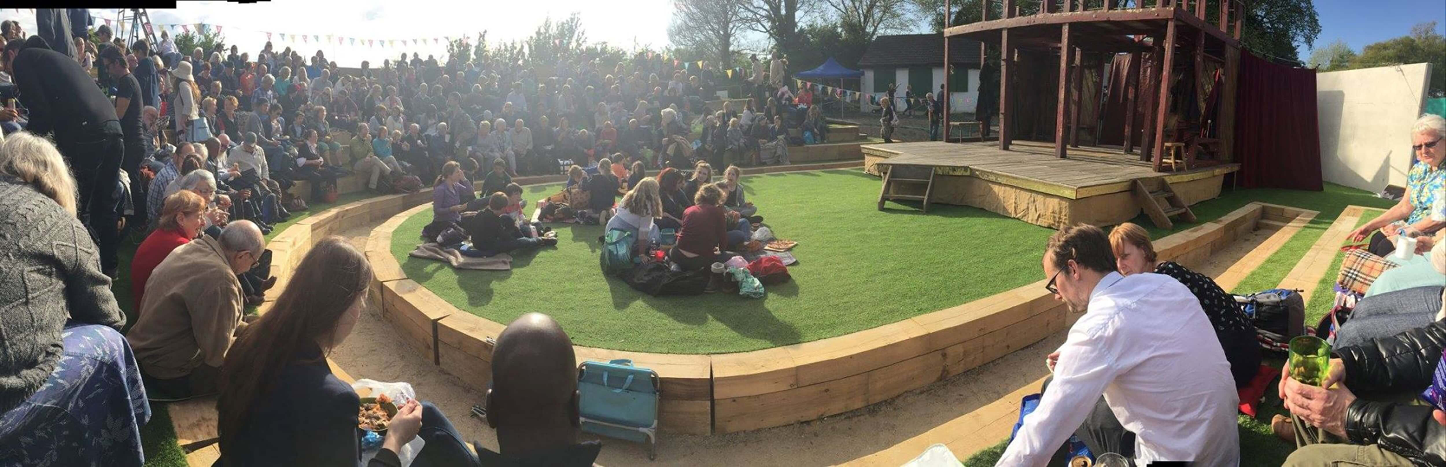 brighton open air theatre performance