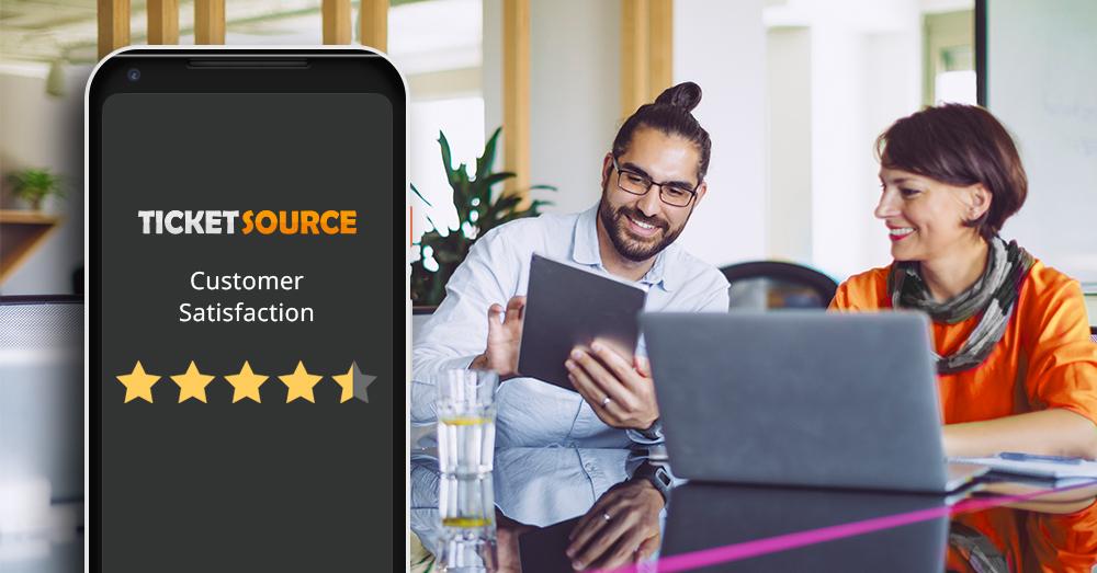 4.5/5 customer satisfaction score