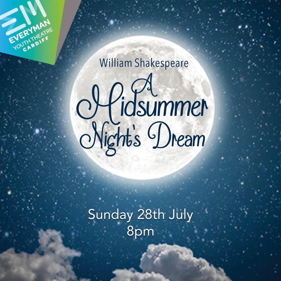 A Midsummer Night's Dream at Sophia Gardens event tickets