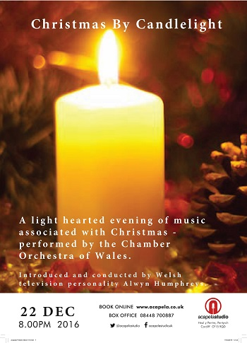 """Christmas by Candlelight """" at Acapela Studio"""