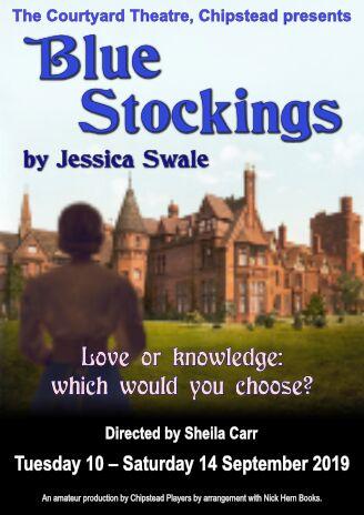 Blue Stockings banner image