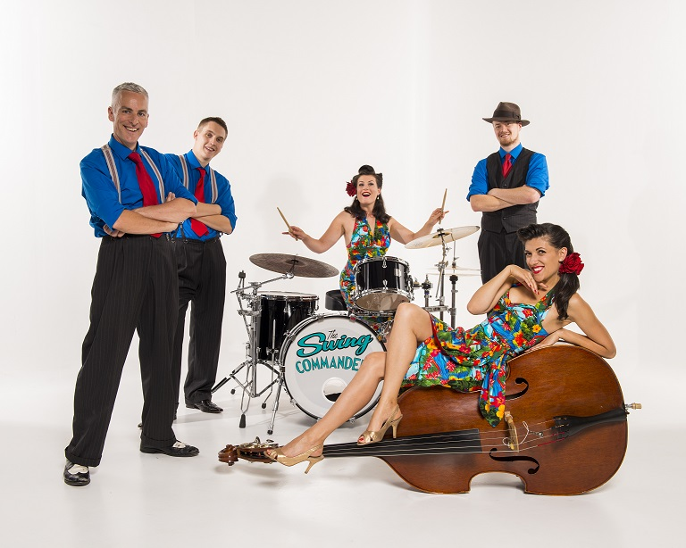 The Swing Commanders  banner image