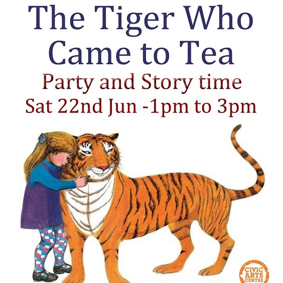 The Tiger Who Came to Tea - Party & Storytime banner image