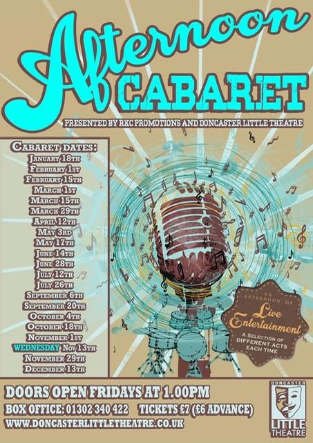 Afternoon Cabaret 2019 banner image