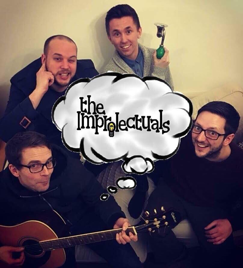 "NAC Promotions presents ""The Improlectuals""  banner image"