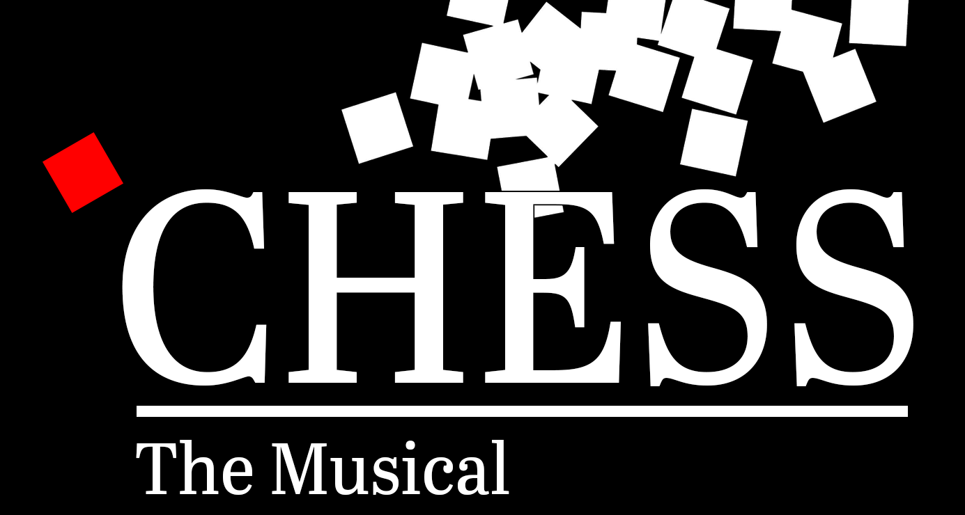 "Masqueraders Theatrical Society presents ""Chess"" banner image"