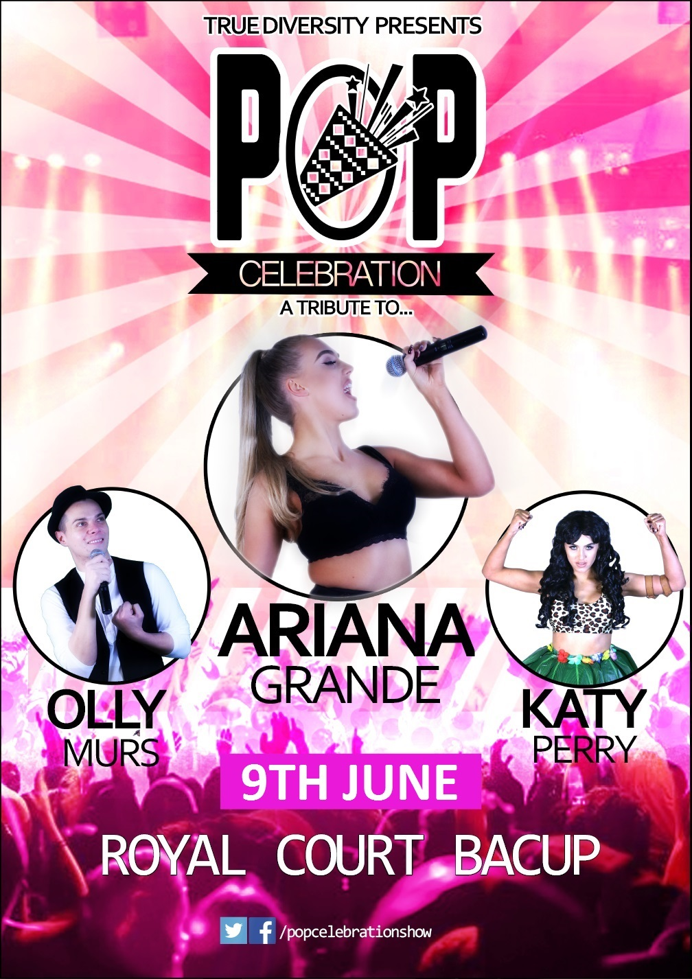 Pop Celebration Tributes To Ariana Grande Katy Perry And Olly