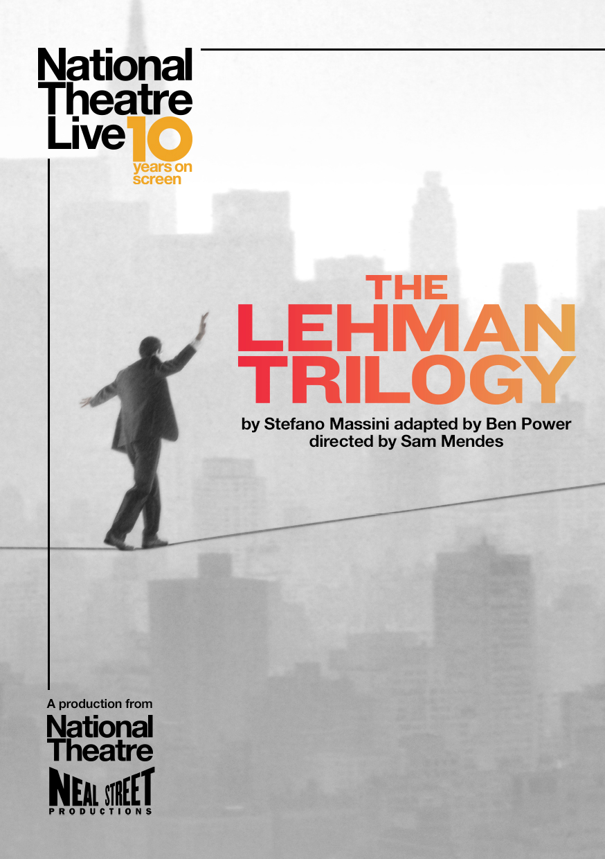 NT Live: The Lehman Trilogy banner image