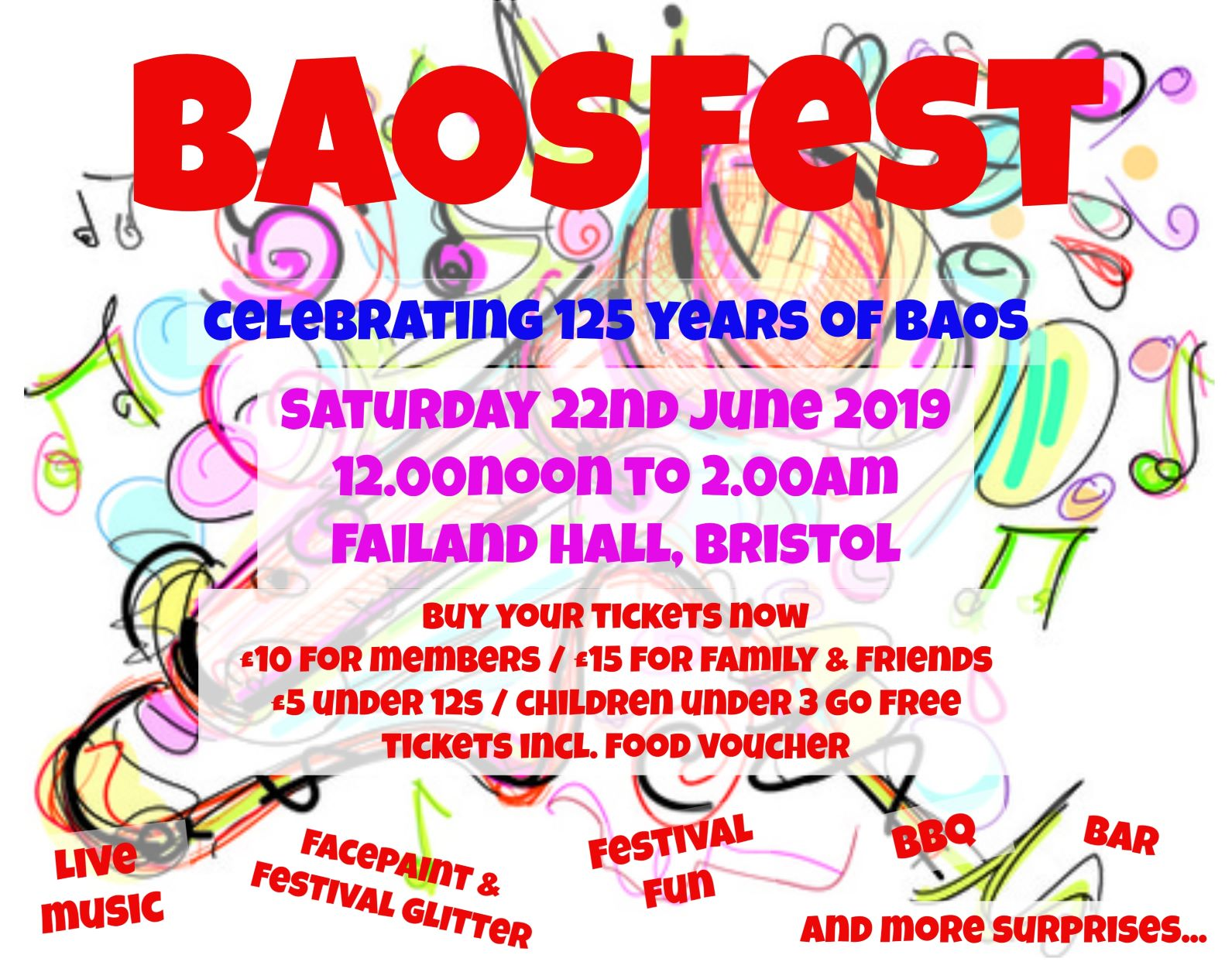 BAOSFest - Celebrating 125 Years of BAOS banner image