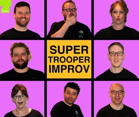 Super Trooper Improv Comedy banner image
