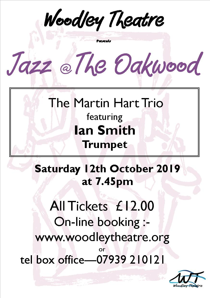 Jazz Concert - Martin Hart Trio featuring Ian Smith on Trumpet banner image