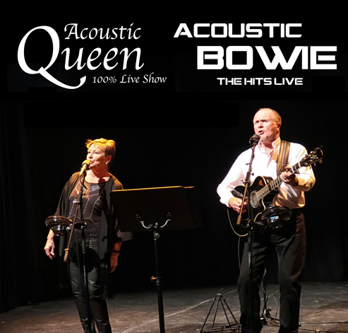 Acoustic Bowie and Acoustic Queen by The Boyds banner image