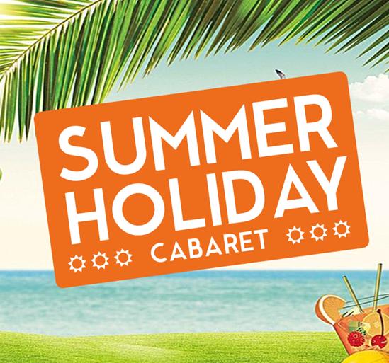 Summer Holiday Cabaret banner image