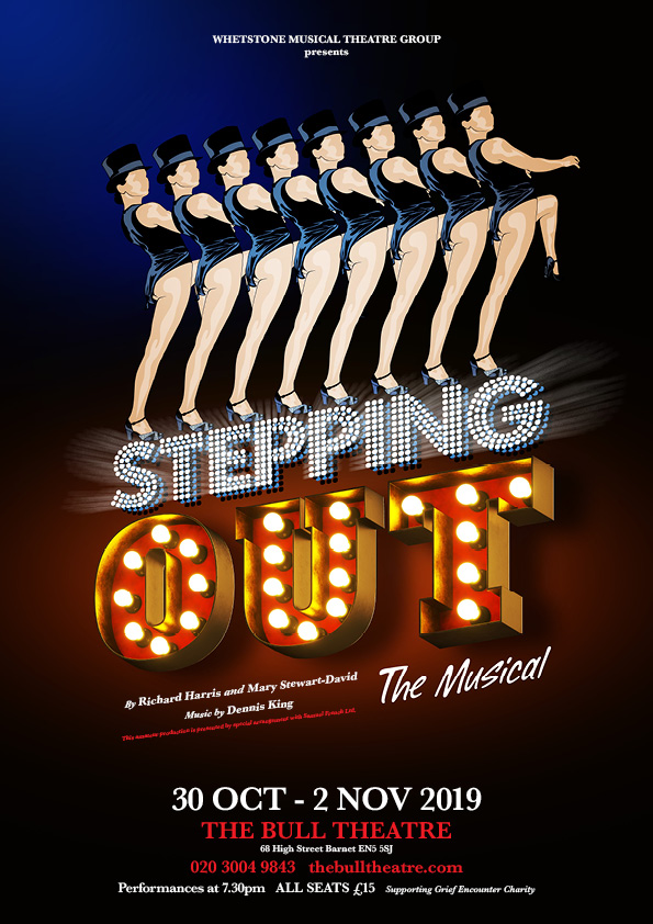 Stepping Out - The Musical banner image