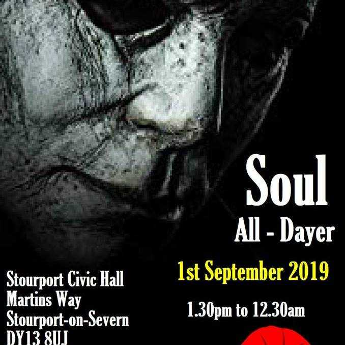 Soul All Dayer - in Aid of the Royal British Legion banner image