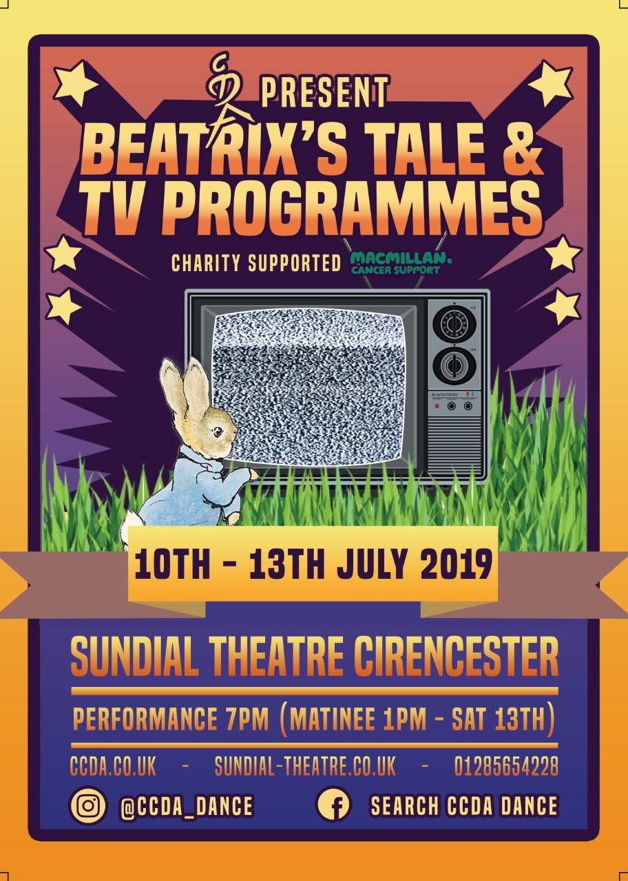 CCDA Present: Beatrix's Tale & TV Programmes banner image