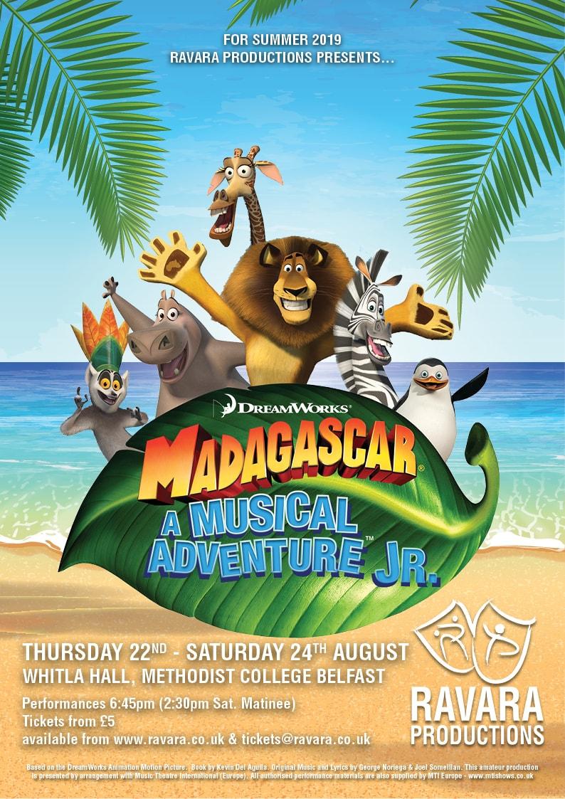Madagascar – A Musical Adventure JR. banner image