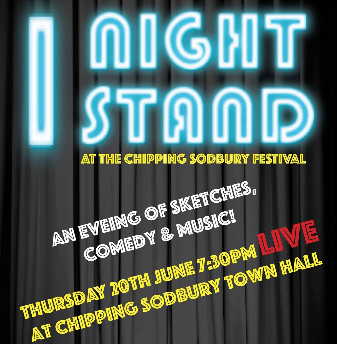 1 Night Stand at Chipping Sodbury Festival banner image