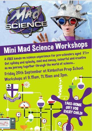 Mini Mad Science Workshop - Fantastic Fliers banner image