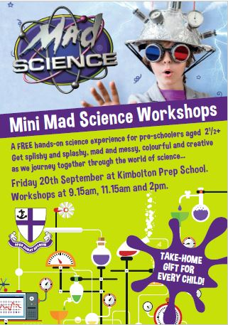 Mini Mad Science Workshop - Lights Colour Action banner image