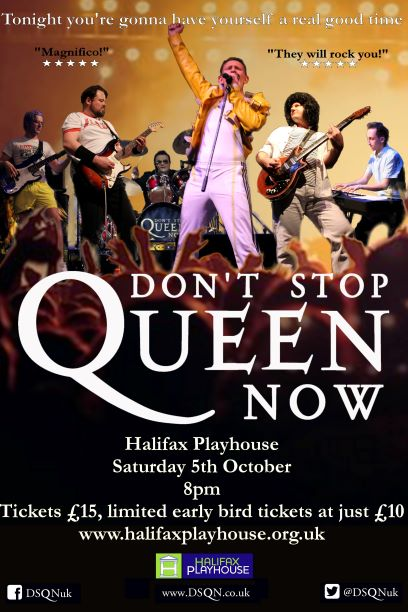 DON'T STOP QUEEN NOW -Tribute Act banner image
