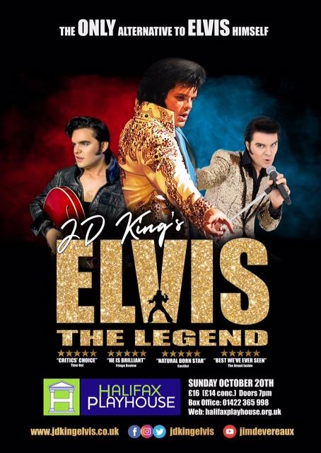 Elvis the Legend on Tour (JD King's Elvis) banner image