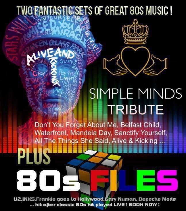 """Alive & Kicking UK (Simple Minds Tribute)"" at Newhampton"