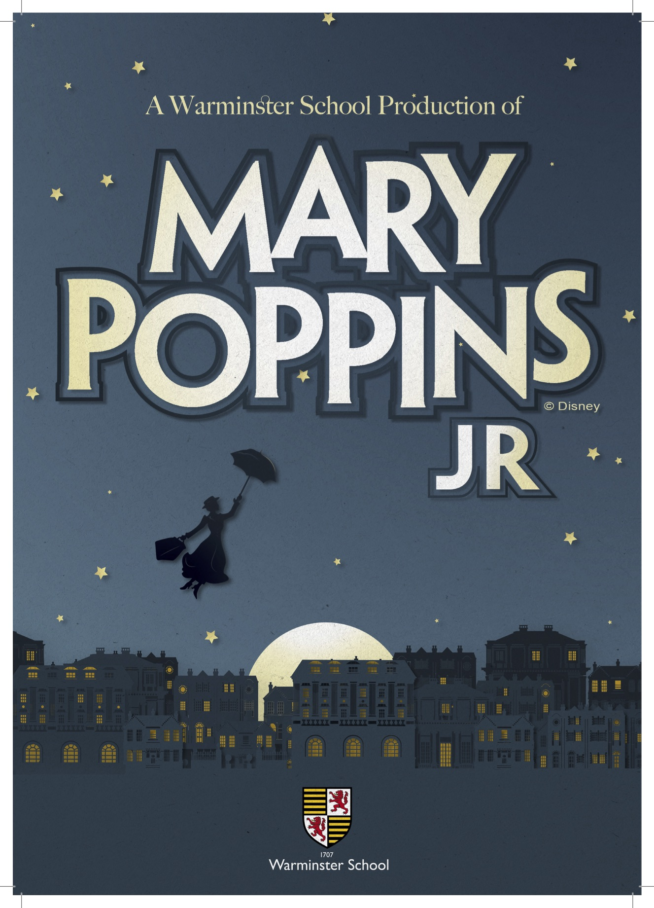 Mary Poppins JR banner image