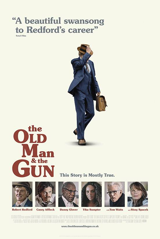 The Old Man and the Gun (12A) banner image