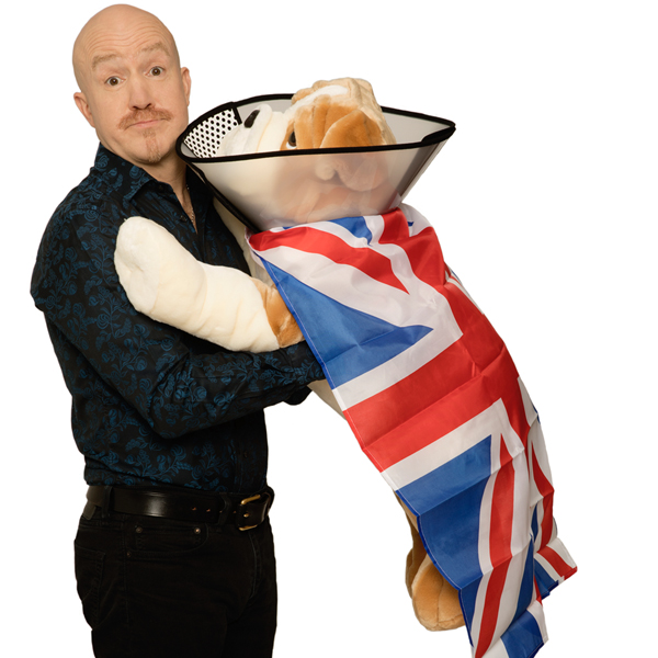 Funny Way To Be Comedy - Andy Parsons: Healing The Nation  (£15.00) 14+ banner image