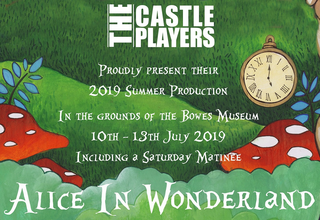 Castle Players: Alice In Wonderland banner image