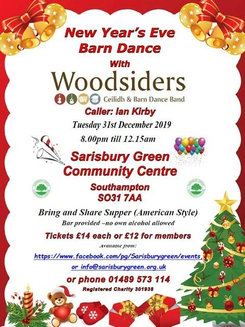 New Years Eve Barn Dance  2019 banner image