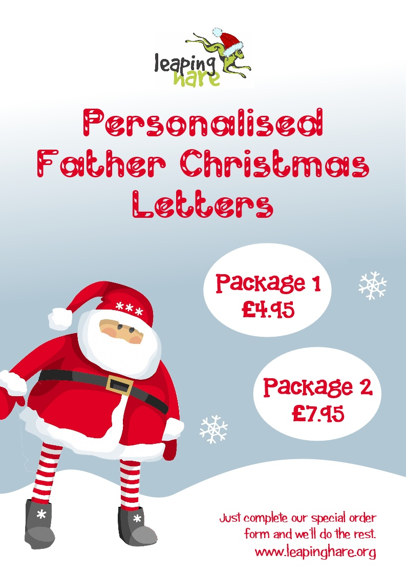 Personalised father christmas letters at leaping hare cic event personalised father christmas letters at leaping hare cic event tickets from ticketsource online event ticketing spiritdancerdesigns Image collections