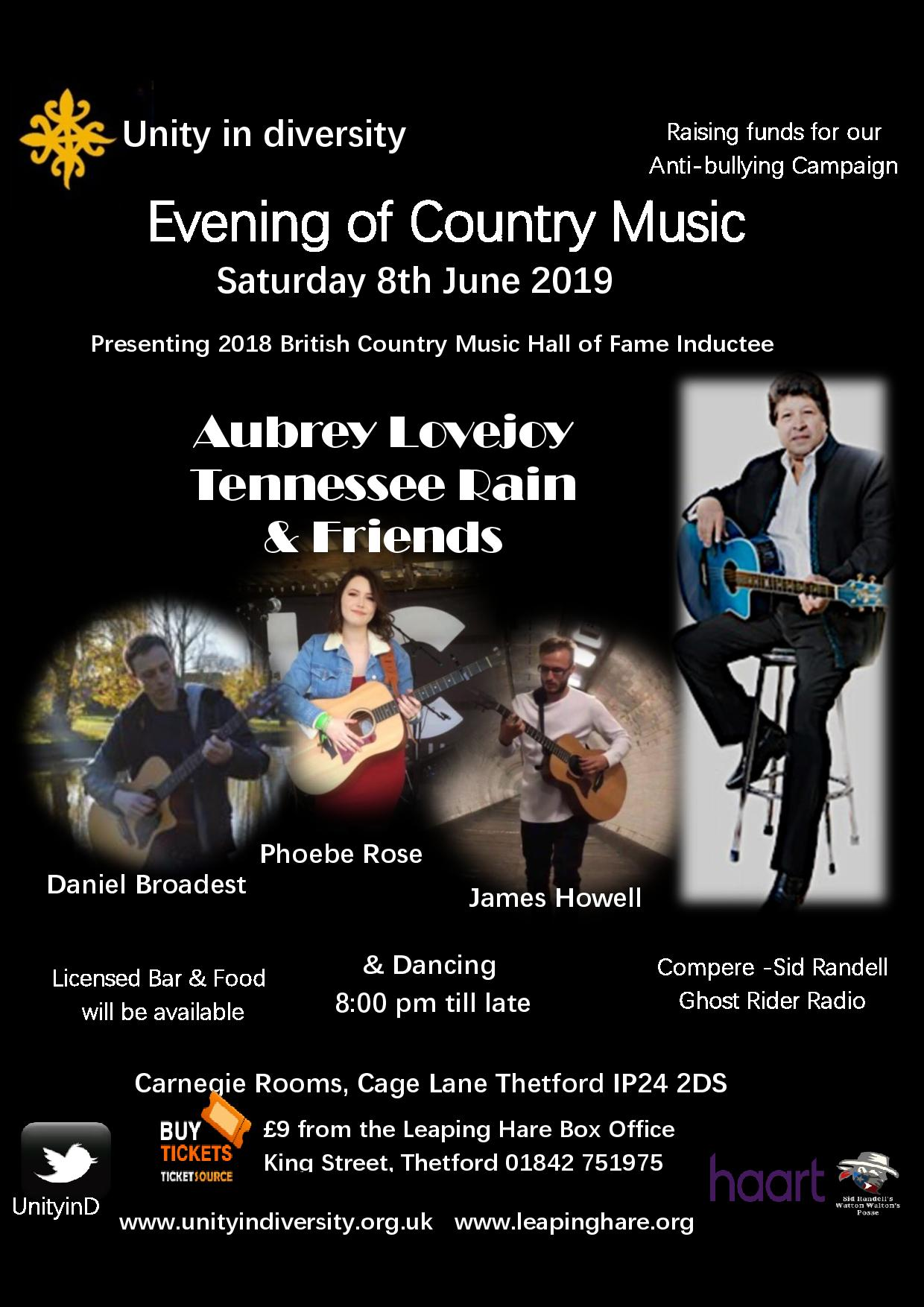 Evening of Country Music banner image