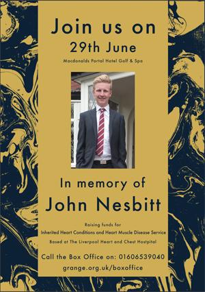 The John Nesbitt Memorial Gala banner image