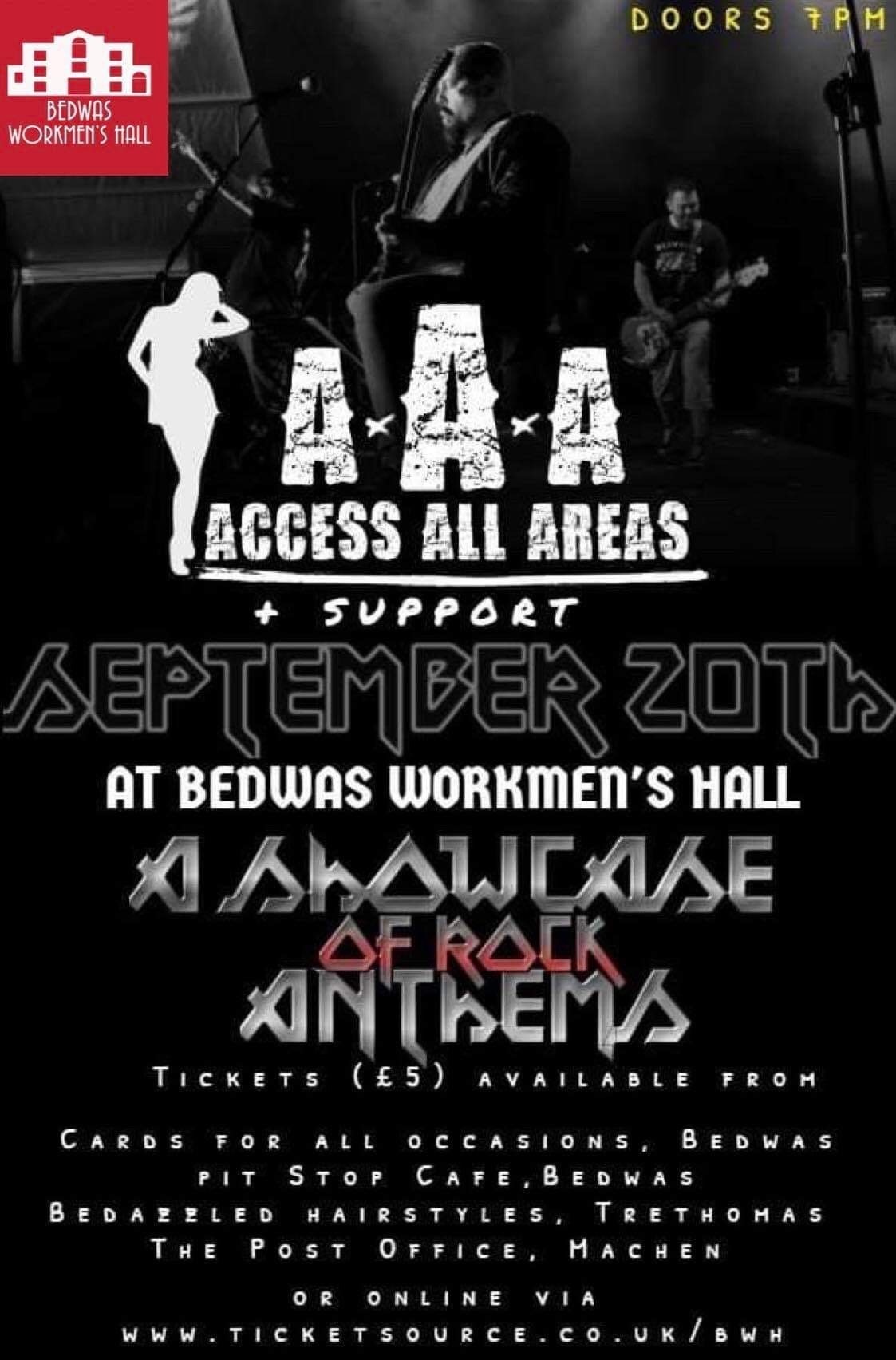 Access All Areas & Support banner image