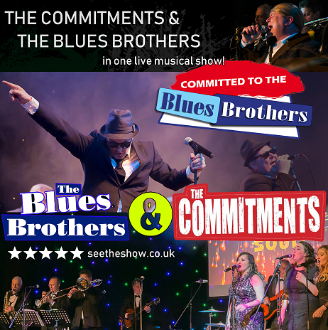 The Ultimate Commitments & Blues Bros Experience banner image