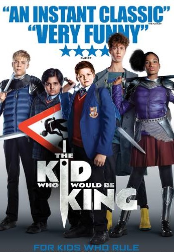 Family Cinema at the Halls - The Kid Who Would be King (PG) banner image