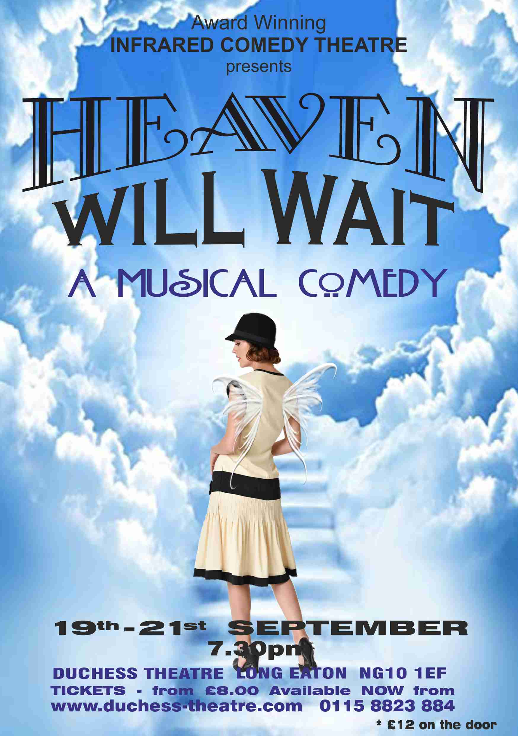 HEAVEN WILL WAIT - Infrared Comedy Theatre banner image