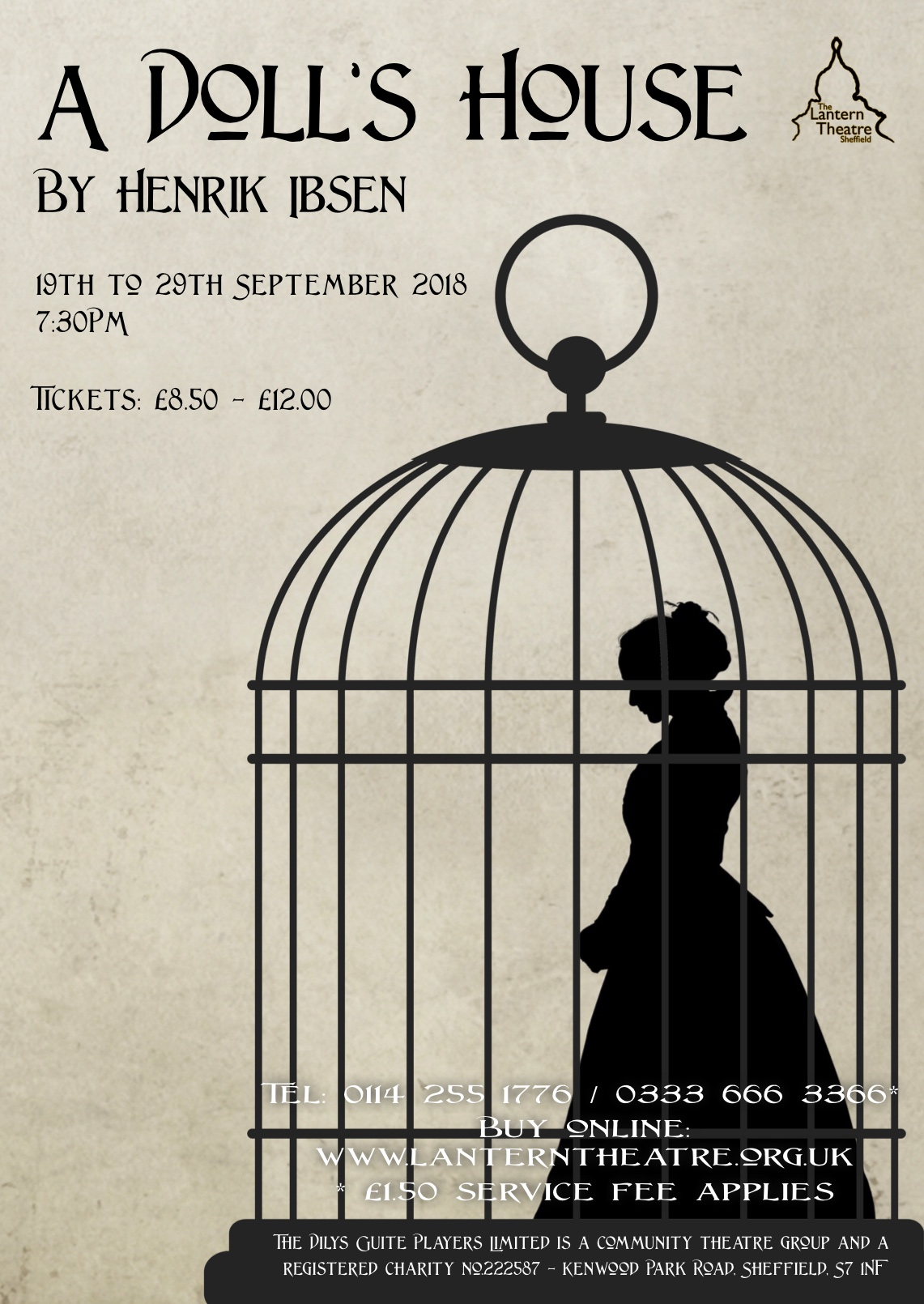 A Dolls House At The Lantern Theatre Event Tickets From TicketSource
