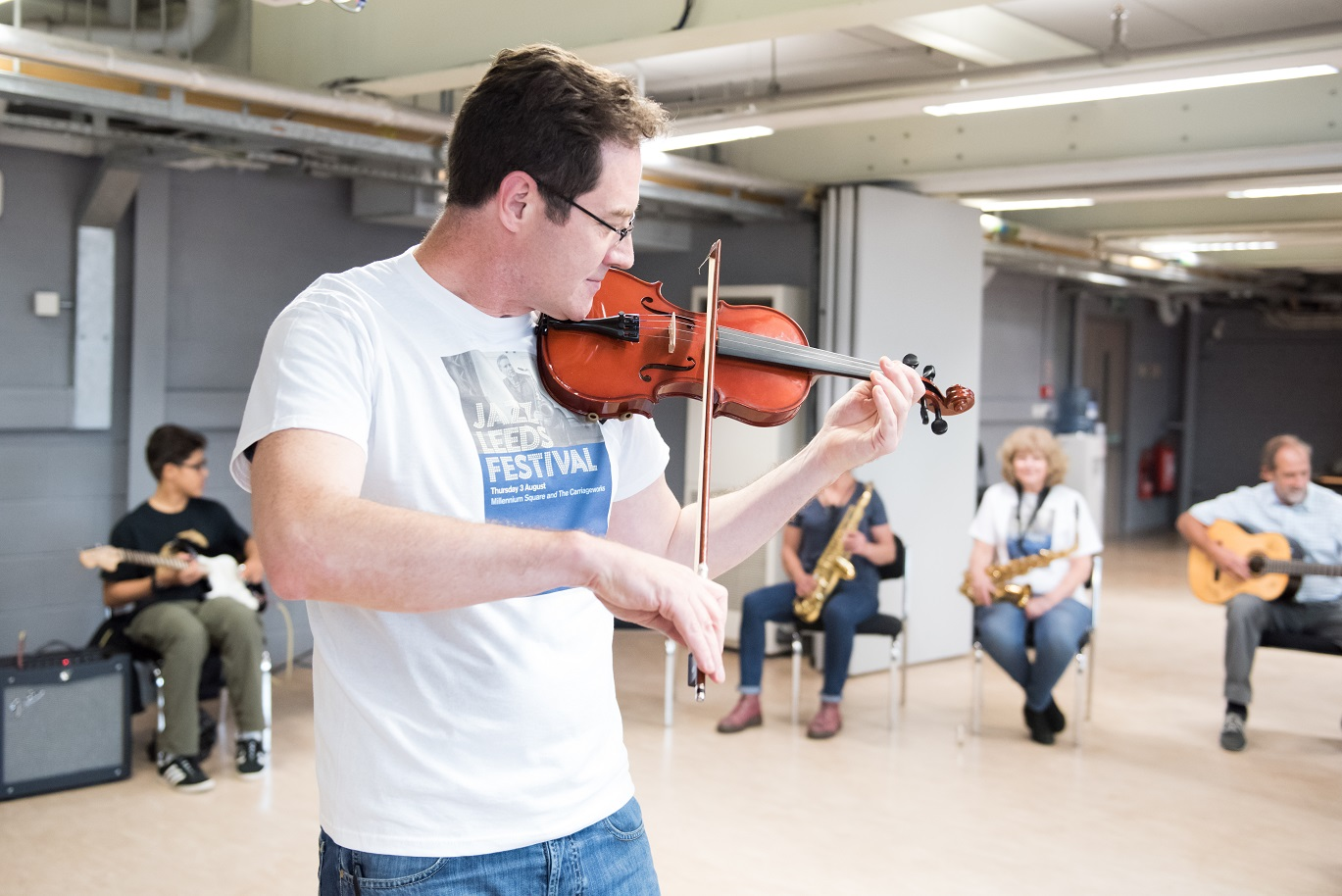 LJF workshop : Learning to Play Jazz with Dom Moore banner image
