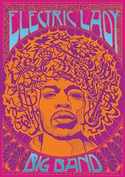 "LJF: Electric Lady Big Band ""50 Years of Hendrix's Masterpiece"" banner image"