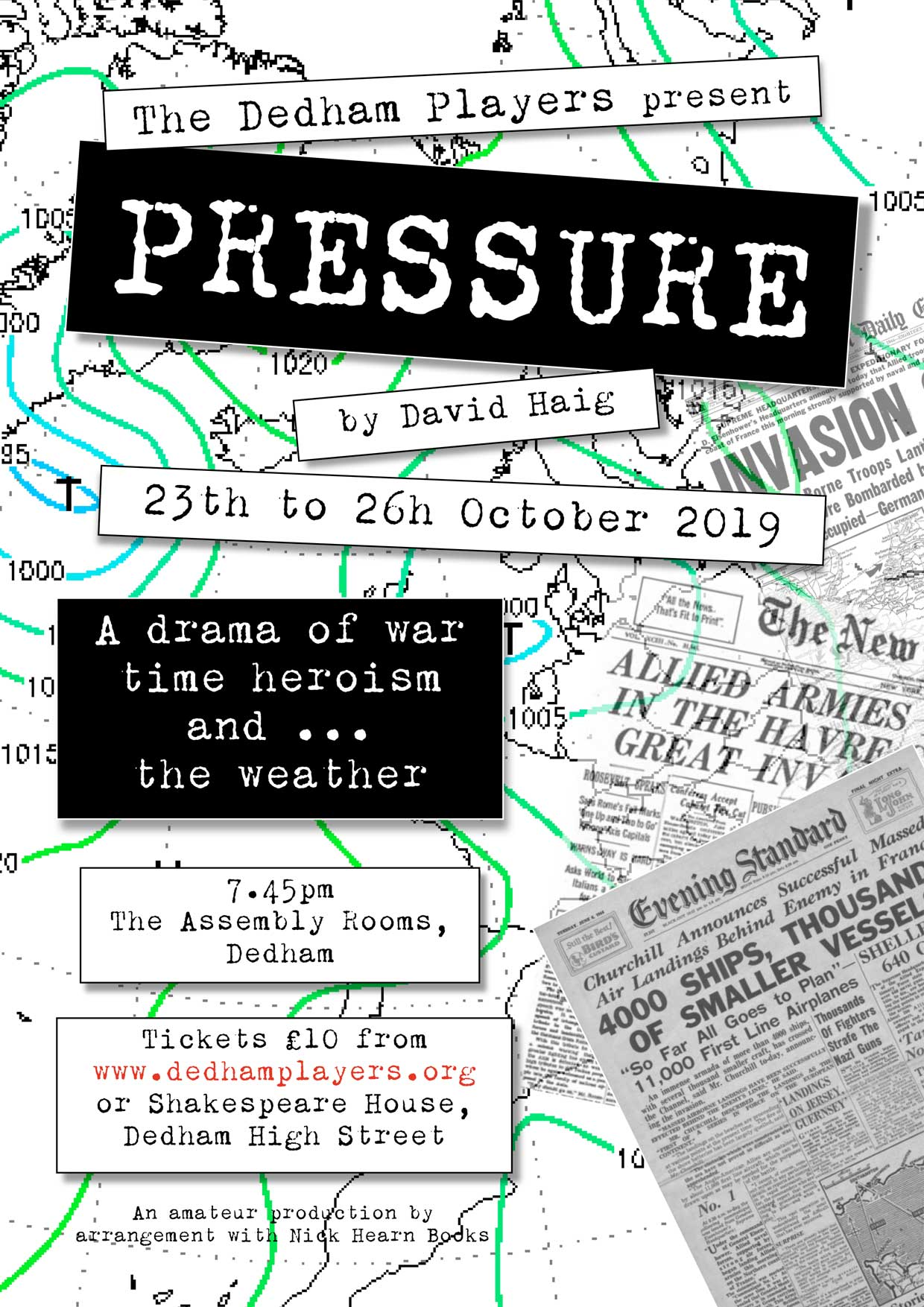 PRESSURE by David Haig banner image