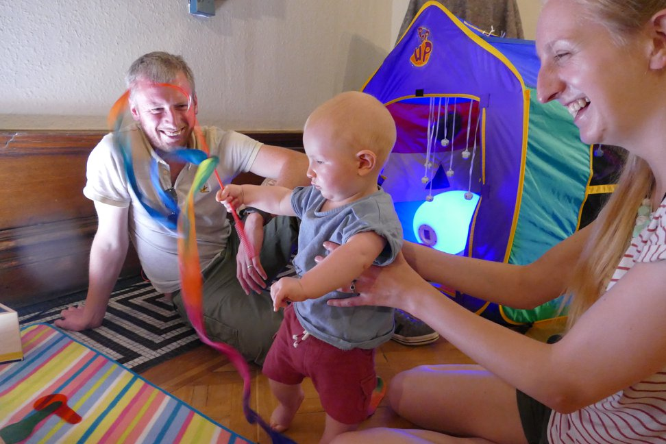 Creative Baby sensory play - sessions from April 2019 onwards banner image