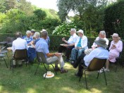 Pimms and Cake at Girton College banner image