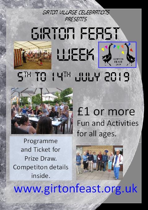 Girton Feast Programme voucher 2019 banner image