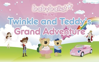 Twinkle and Teddy's Grand Adventure, Dulwich - 2pm Show banner image